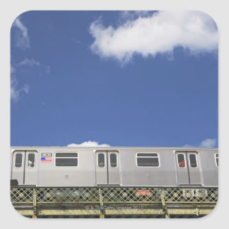 Subway Cars Sticker