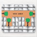 Subway Doors Mousepad