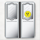 Subway Doors Smiley Mousepad