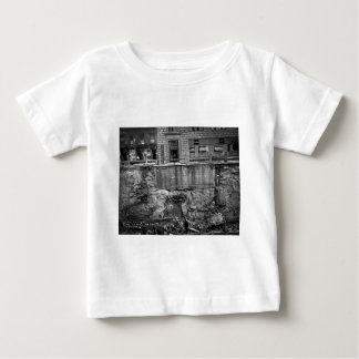 Subway Excavation Seventh Ave and 24-25th Streets Baby T-Shirt