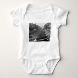 Subway Excavation Seventh Ave New York City 1913 Baby Bodysuit