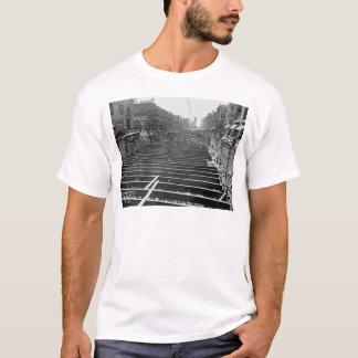 Subway Excavation Seventh Ave New York City 1913 T-Shirt