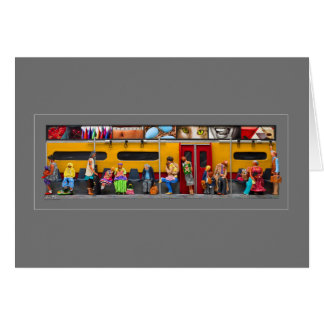 Subway - Lonely Travelers Greeting Cards