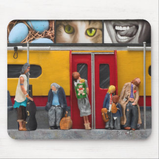 Subway - Lonely Travelers Mouse Pad