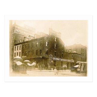 Subway Tavern, New York City 1904 Vintage Postcard