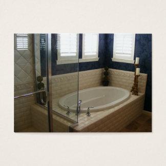 Subway Tile Bathroom Business Card