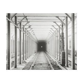 Subway Tunnel, 1904 Canvas Print