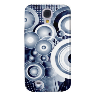 Subwoofer Bass Speaker Grunge Galaxy S4 Cases