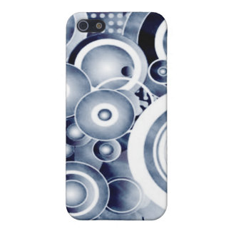 Subwoofer Bass Speaker Grunge Cover For iPhone 5/5S