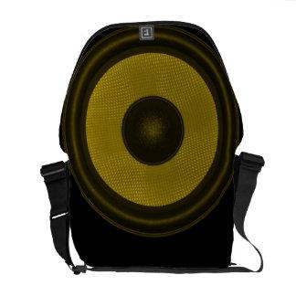 Subwoofer Speaker Messenger Bag