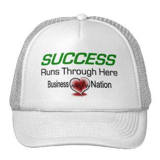 Succeess Runs Through Here Trucker Hat