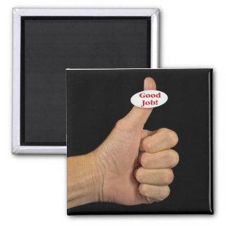 Success 2 Inch Square Magnet