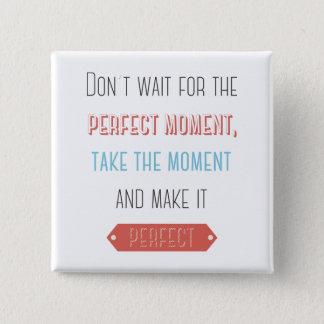 Success, Attitude, Goals Motivational Life Quote Button