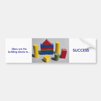 success bumper sticker by tdgallery