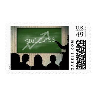 Success Business Classroom Chalkboard Stamp
