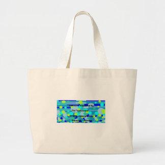 Success by Diamante Lavendar Large Tote Bag