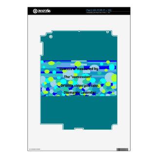 Success by Diamante Lavendar Skin For iPad 2