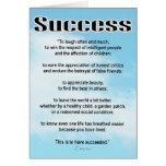 Success Card