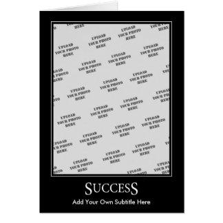 Success Card Motivational Template