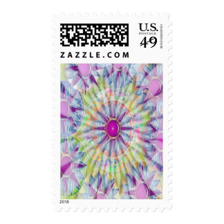 Success Celebrations - Stars n Pearls Colors Postage Stamp