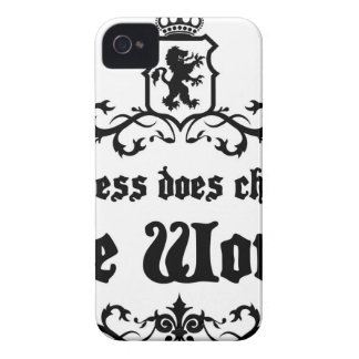 Success Does Change The World Medieval quote iPhone 4 Cover