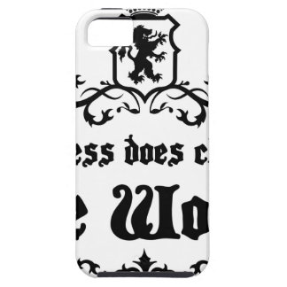 Success Does Change The World Medieval quote iPhone SE/5/5s Case