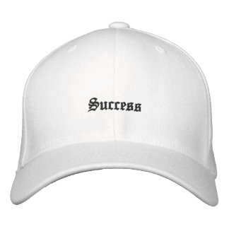 """Success"" Embroidered Hat"
