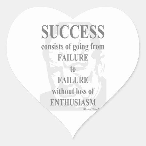 Success & Enthusiasm Stickers