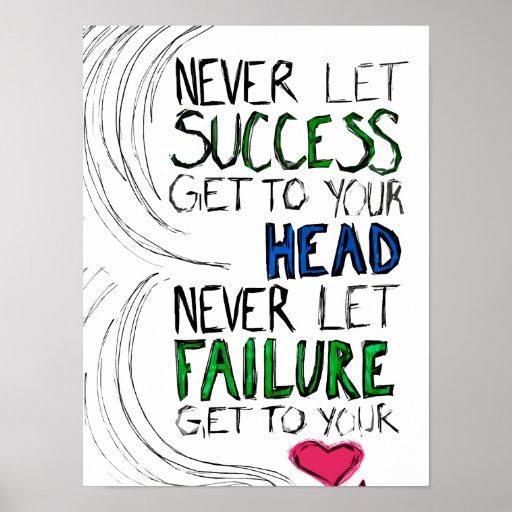Success & Failure Print