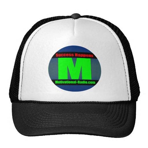 Success Happens Hat (Blue Logo)