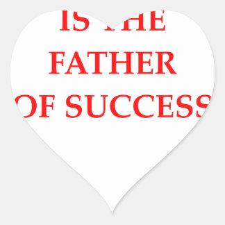 success heart sticker