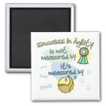 Success in Agility Refrigerator Magnet