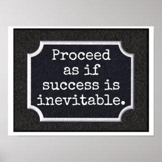 Success Inevitable - print