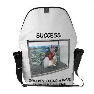 Success Involves Taking A Break Duke Snorkeling Courier Bag