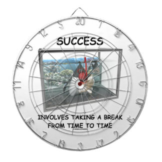 Success Involves Taking A Break Duke Snorkeling Dart Boards