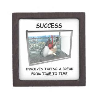 Success Involves Taking A Break Duke Snorkeling Gift Box