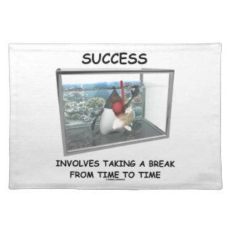Success Involves Taking A Break Duke Snorkeling Placemat