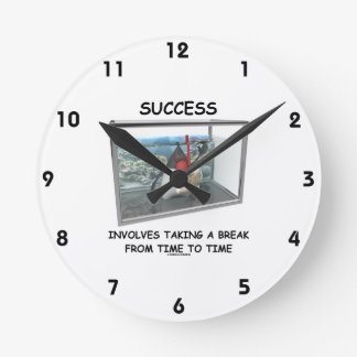 Success Involves Taking A Break Duke Snorkeling Round Clock