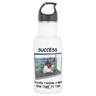 Success Involves Taking A Break Duke Snorkeling Water Bottle