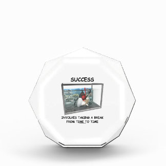 Success Involves Taking A Break From Time To Time Award
