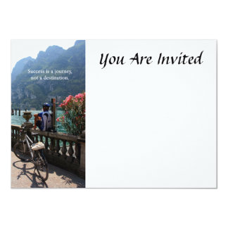 Success Is a Journey Personalized Invitation