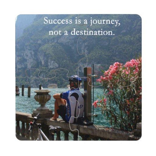 Success Is a Journey Puzzle Coaster