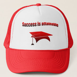 Success is attainable trucker hat