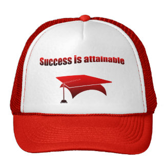 Success is attainable trucker hat