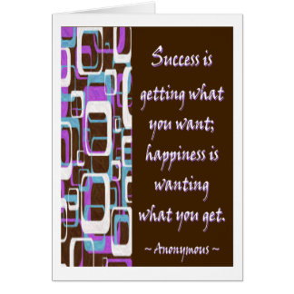 Success Is... Greeting Card