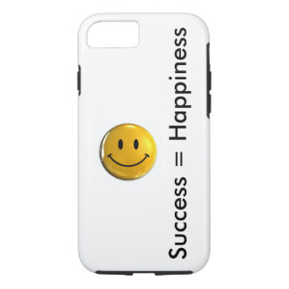 Success is Happiness iPhone 7 Case