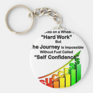 success is hard work key chains