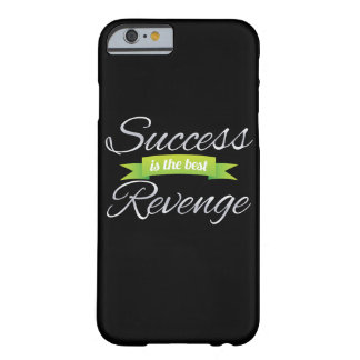 Success is the Best Revenge Green Barely There iPhone 6 Case