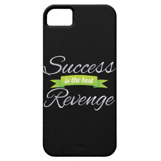 Success is the Best Revenge Green iPhone 5 Covers