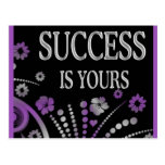 SUCCESS IS YOURS POSTCARDS